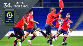 Ligue 1'de haftanın en güzel golleri