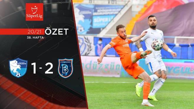 ÖZET | BB Erzurumspor 1-2 M. Başakşehir