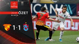 ÖZET   Göztepe 1-1 Trabzonspor