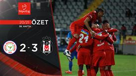 ÖZET | Ç. Rizespor 2-3 Beşiktaş