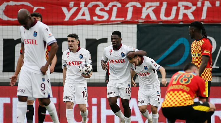 Trabzonspor seriyi 9 maça çıkardı