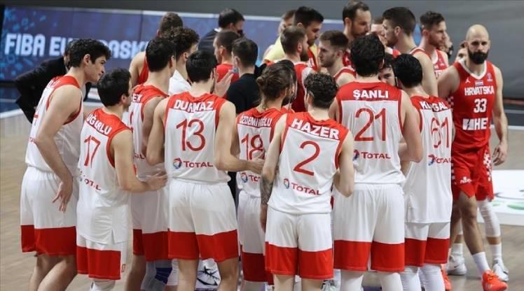 A Milli Erkek Basketbol Takımı'nın maç takvimi belli oldu