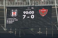Beşiktaş'tan rekorların gecesi