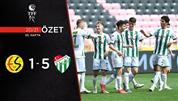 ÖZET   Eskişehirspor 1-5 Bursaspor
