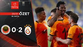 ÖZET   Gençlerbirliği 0-2 Galatasaray
