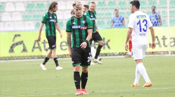 Süper Lig'e ilk veda Yukatel Denizlispor'dan