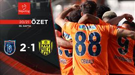 ÖZET   M. Başakşehir 2-1 MKE Ankaragücü