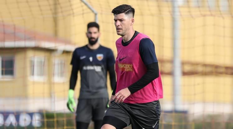 Kayserispor, Gaziantep maçının hazırlıklarına başladı