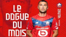 Lille'de nisan ayının futbolcusu Burak Yılmaz