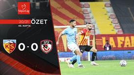 ÖZET | HK Kayserispor 0-0 Gaziantep FK
