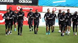 Beşiktaş, F. Karagümrük mesaisine başladı