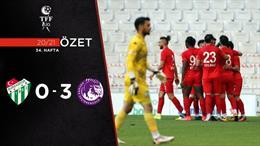 ÖZET | Bursaspor 0-3 Ankara Keçiörengücü