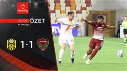 ÖZET   H. Y. Malatyaspor 1-1 A. Hatayspor