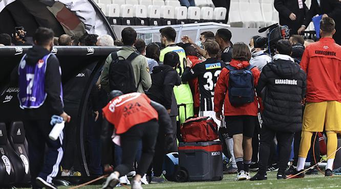 Beşiktaş'ta Cenk Tosun ve Aboubakar PFDK'ya sevk edildi