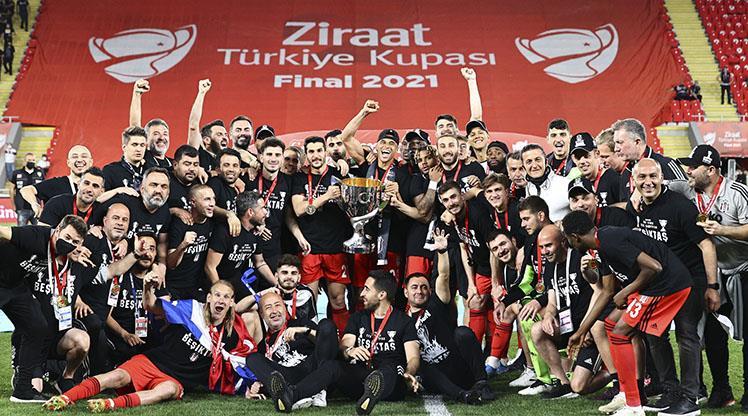 Ziraat Türkiye Kupası Beşiktaş'ın
