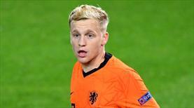 Hollanda'ya Van de Beek şoku!
