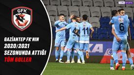 İZLE | Gaziantep FK'nın bu sezon attığı tüm goller