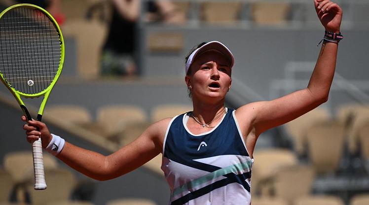 Krejcikova, Fransa Açık'ta yarı finalde