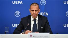 UEFA Başkanı Ceferin'den Eriksen mesajı