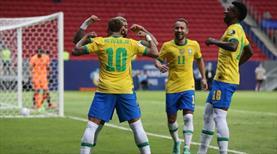 Brezilya Copa America'ya şovla başladı