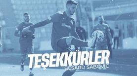 Kayserispor'dan Sabovic'e veda mesajı
