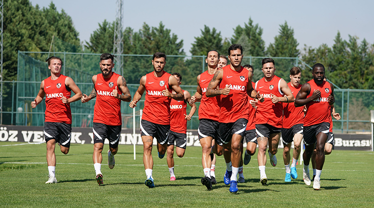 Gaziantep FK sezon hazırlıklarını sürdürdü