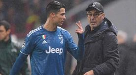 Sarri'den Ronaldo itirafı