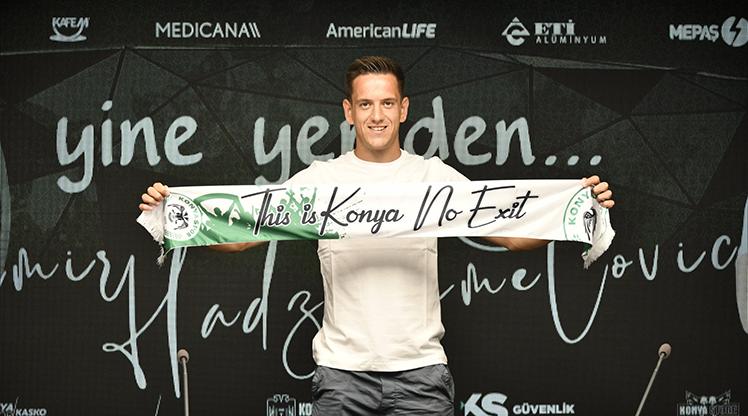 Konyaspor, Hadziahmetovic ile uzattı
