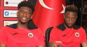 LuaLua ve Aaron Tshibola, Gençlerbirliği'nde