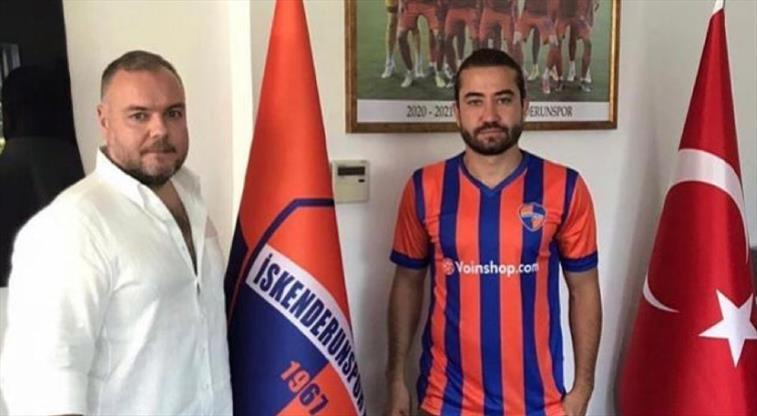 Aydın Yılmaz'ın yeni takımı İskenderunspor