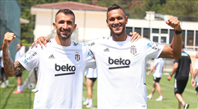 Beşiktaş sezon hazırlıklarını sürdürdü