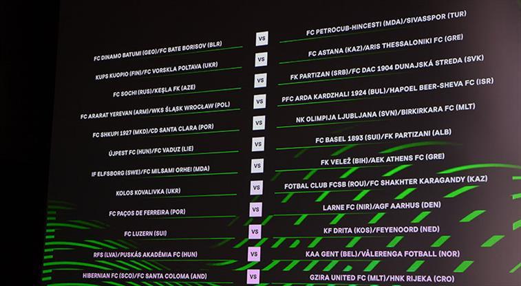Trabzonspor ve Sivasspor'un muhtemel rakipleri belli oldu