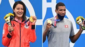 Yüzmede madalyalar sahibini buldu