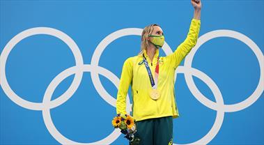 Altın madalyalar olimpiyat rekorlarıyla geldi