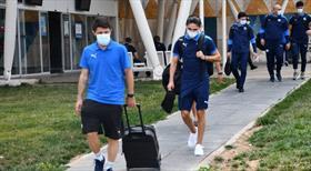 Dinamo Batum kafilesi Sivas'ta