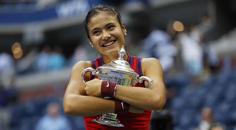 18 yaşındaki Raducanu ABD Açık'ta şampiyon