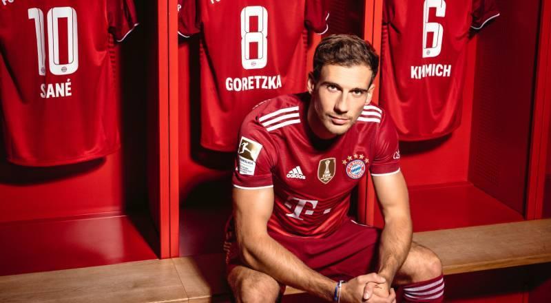 Bayern Münih'ten Leon Goretzka'ya yeni sözleşme