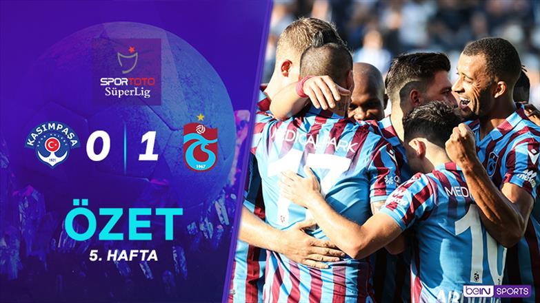 ÖZET   Kasımpaşa 0-1 Trabzonspor