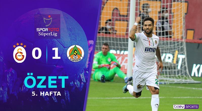 ÖZET | Galatasaray 0-1 A. Alanyaspor