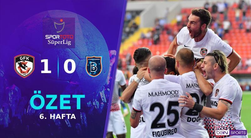 ÖZET   Gaziantep FK 1-0 M. Başakşehir