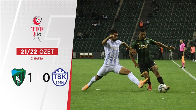 ÖZET | Kocaelispor 1-0 Tuzlaspor