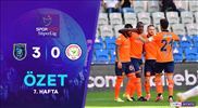 ÖZET | M. Başakşehir 3-0 Ç. Rizespor