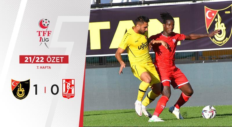 ÖZET | İstanbulspor 1-0 Balıkesirspor