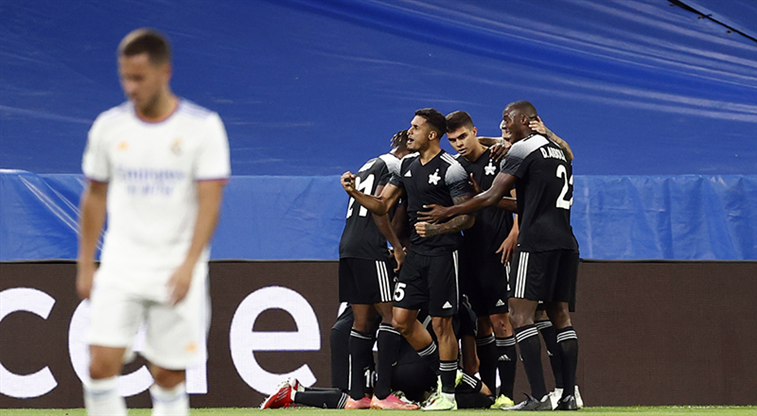 Sheriff, Real Madrid'i de devirdi: 1-2