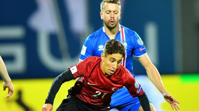 İzlanda - Türkiye maçının özeti!