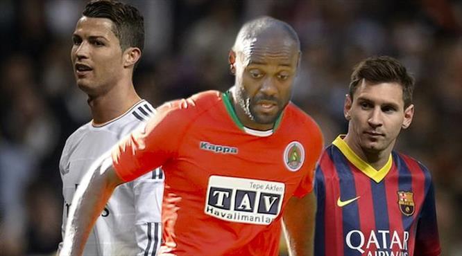 """Ne Ronaldo, ne de Messi... Sadece Vagner Love!"""