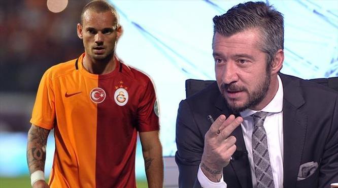 """""""Sneijder'in farklı bir büyüsü var"""""""