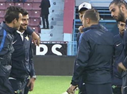 Eski dostlar Trabzon'da buluştu