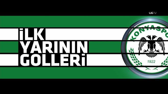 Konyaspor'un ilk yarı goller: 6-10. hafta