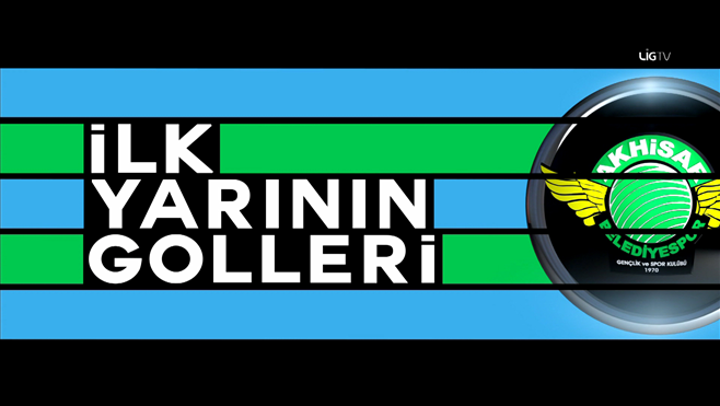 Akhisar Belediyespor'un ilk yarı golleri! 1-8. hafta
